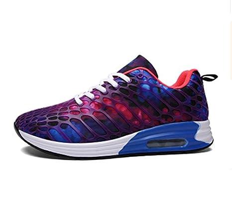 ZHANGYUQI Scarpe sportive da uomo casual scarpe da corsa scarpe da corsa tendenza scarpe da uomo scarpe maschili coreane versione mimetica (Colore : Rosa rossa, dimensioni : 40)