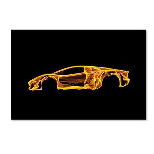 Lamborghini Aventador by Octavian Mielu, 12x19-Inch Canvas Wall Art