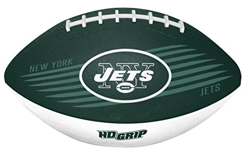 - Rawlings NFL New York Jets 07731079111NFL Downfield Football (All Team Options), Green, Youth