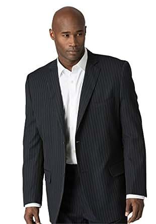 Kings&39 Court Men&39s Big &amp Tall Lightweight Blend Three-Button Suit