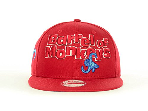 Barrel Of Monkeys Adult Costumes (New Era Barrel of Monkeys 9Fifty Snapback Cap)