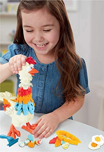 Play-Doh PD CLUCK A DEE FEATHER FUN CHICKEN