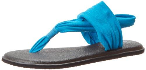 Yoga Océan femme Sanuk Bleu 2 Sling Sandales 4qFZvw