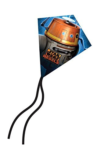 [X-Kites MicroDiamond Kite 7.75 Inch- Disney Star Wars Rebel - Chopper] (Star Wars Chopper)