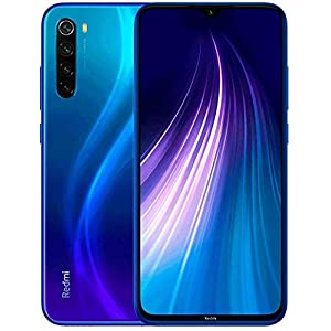 Xiaomi Redmi Note 8, 32GB/3GB RAM 6.3″ FHD+ Display Snapdragon 665, Dual SIM Factory Unlocked Global Version (Neptune Blue)