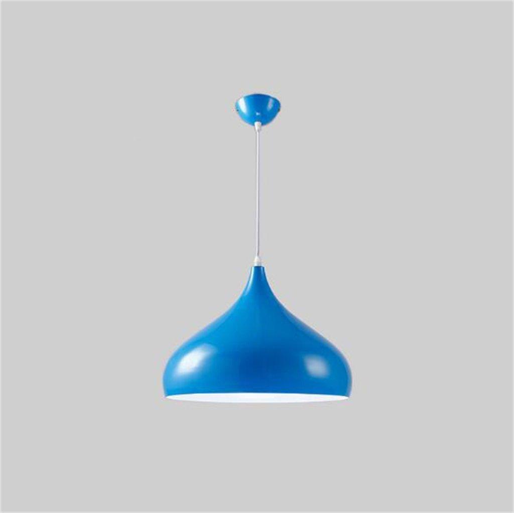 Industrieller Windleuchter Moderne minimalistische Lampe Aluminium Shade Wohnzimmer Esszimmer Schlafzimmer Single Head Lampe kreative Büro (Farbe    1-42cm)
