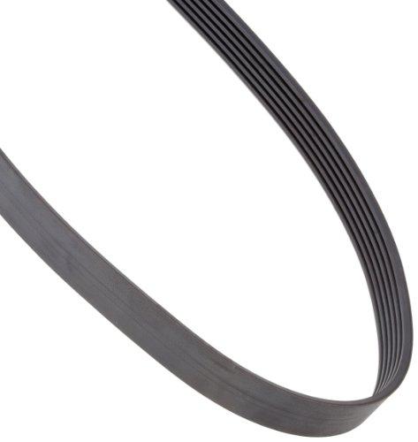 SPZ 1900X6 RIBS Ametric® Metric SPZ Profile Banded V-Belt, 6 Ribs, 9.7 mm Wide per Rib, 10.5 mm High, 1900 mm Long, (Mfg Code 1-046)