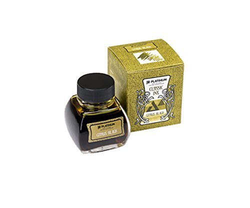 Platinum Classic Ink - 60ml bottle - Iron Gall (Citrus Black) by Classic Ink (Image #1)