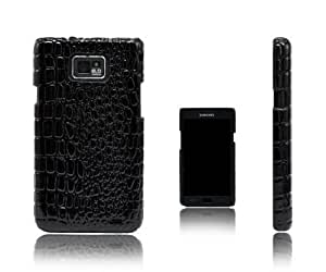 Xcessor Crocodile Skin Effect Hard Plastic Case for Samsung Galaxy Nexus i9250. Black by Xcessor