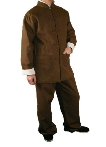 Lin Fin Tenue Noire Kung Fu Tai Chi Vêtement Art Martiaux Sur Mesure #117