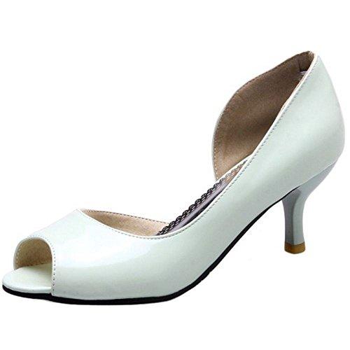 Zanpa Femmes Basic des Chaussures Mini Talon green xOIfBj3M