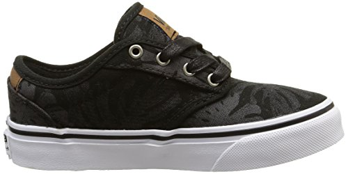 Vans Atwood Deluxe - Zapatillas Niños Negro (palm Leaf/black/white)