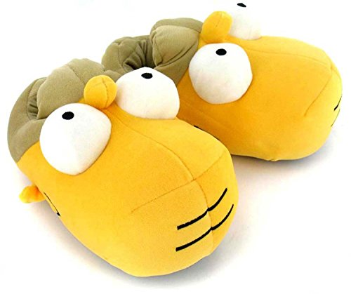 Simpsons Hausschuhe Größe 44-46 Homer Simpson Slipper 3D Schuhe Pantoffeln
