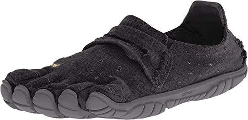 Vibram Five Fingers Men's CVT-Hemp Minimalist Casual Walking Shoe (46 EU/11.5-12, Black)