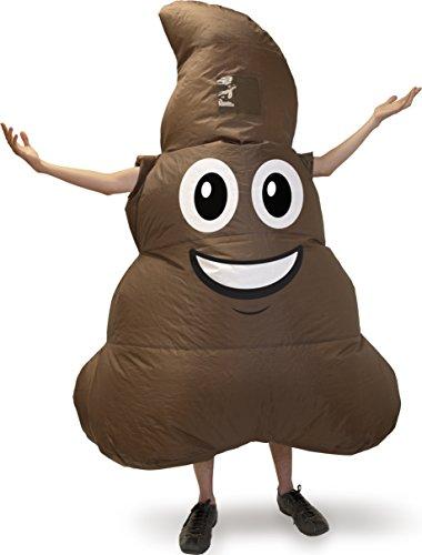Kangaroo's Halloween Costumes - Emoji Poop Costume