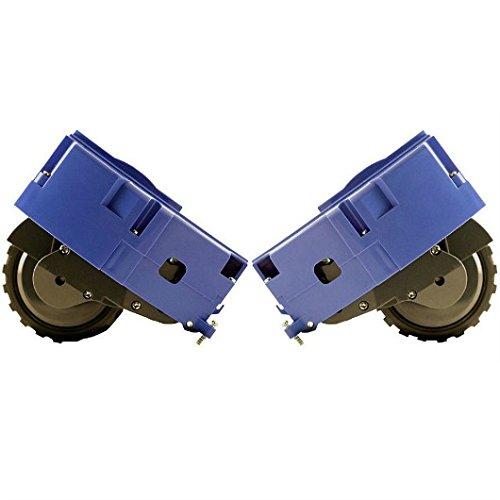 Kit roues - roues droite et gauche d'origine pour iRobot Roomba sé rie R3 500 600 700 - tous modè les 1768FL