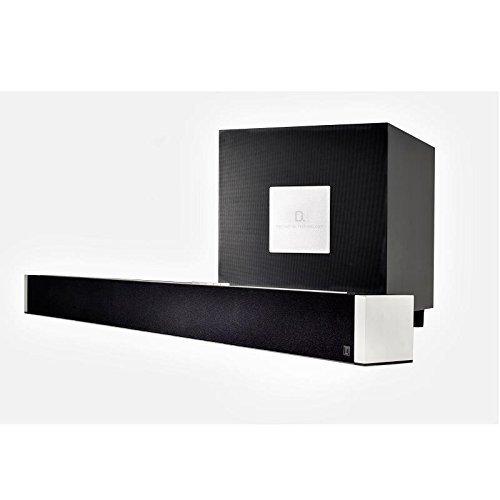 Definitive Technology W Studio Wireless Black Sound Bar & Subwoofer System