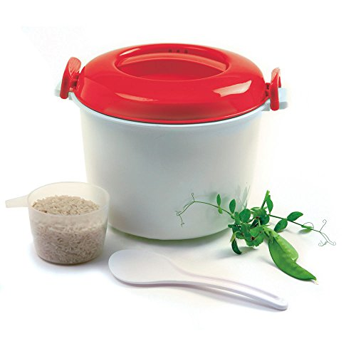 Norpro 5-Cup Microwave Rice Cooker, 1.2 Litre