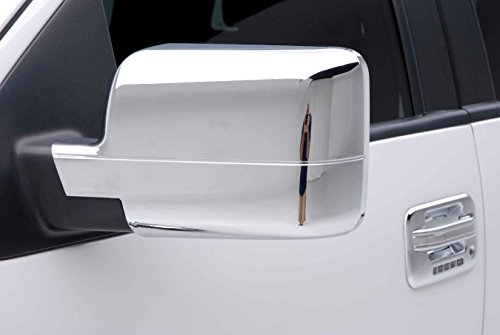 - Razer Auto Chrome Mirror Covers DOES NOT FIT XL, STX for 04 Heritage for 2004-2008 FORD F150