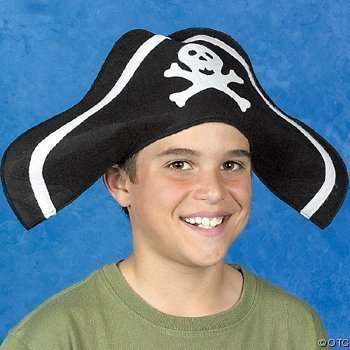 Child Felt Pirate Hat (1