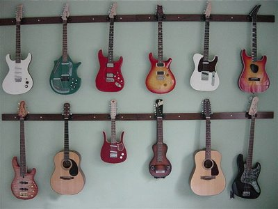 Standard Guitar Mount Three Guitar Rack (Made in the USA) by Guitar Ideas