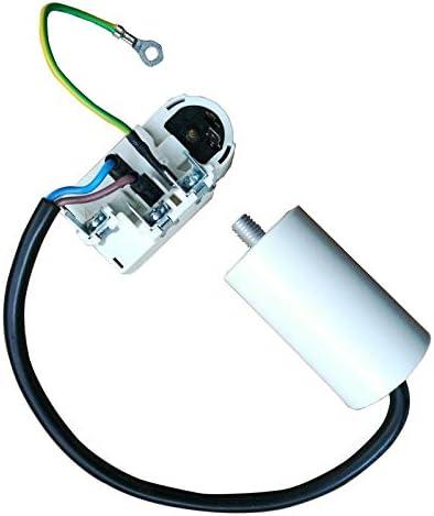 Nologo for Haier Kühlschrank Starter TY-QZ-108-Schutz B52-120 Kompressor Relaiszubehör mit 4.5UF Kondensator Kühlschrank Teilen