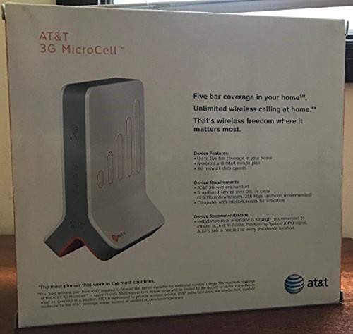 AT&T Microcell Wireless 3G Cell Signal Booster Tower Antenna by Cisco