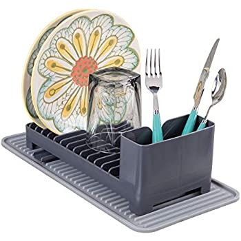 Amazon Com Mdesign Compact Kitchen Countertop Sink Dish