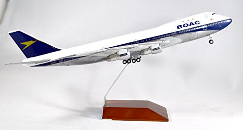 GeminiJets BOAC British Overseas Airways Corporation Boeing 747-100 Diecast Airplane Model G-AWNF 1:200 Scale Part# (British Airways Boeing 747)