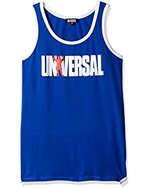 Tank Top, Blue, Medium