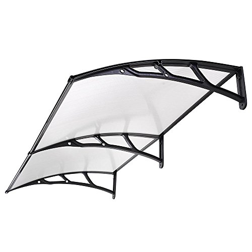 black-classic-door-canopy-awning-transparent-polycarbonate-window-shelter-front-door-hotel-porch