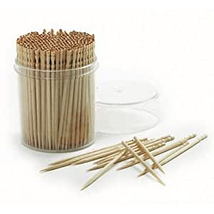 Amazon.com : NEW Ornate Bamboo Fancy Toothpicks, 360 Count