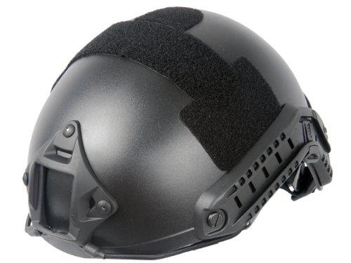 Lancer Tactical CA-726B FAST Helmet MH Type Custom Color (Black)