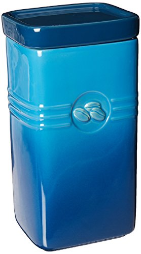 Blue Coffee Canister - Le Creuset Stoneware 2-Quart Coffee Storage Jar, Marseille