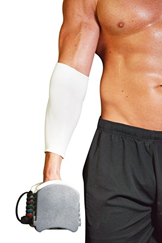 Water-proof Low Compression Sleeve 2''x10'' Non-absorbent Flexible Comfort Support Pressure Arms Legs Elbows Knees Athletic Injury Recovery Pain Relief Protects Medical Dressings Made in US by Nu Bandage