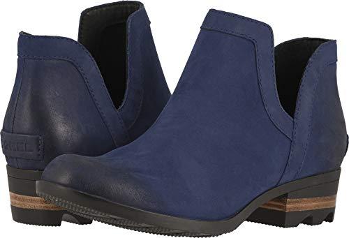 (SOREL Women's Lolla Cut Out Wp Boots (6 B(M) US, Blue Shadow/Black))