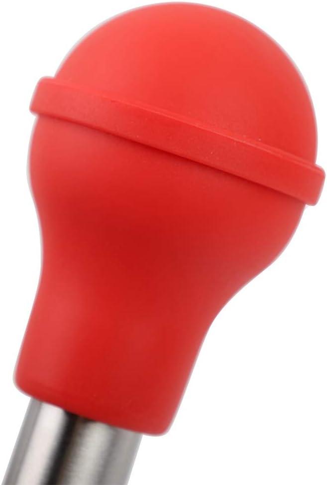 Gancon Inyector de condimento de Adobo de Pavo Bomba de rociado de jeringa de Sabor de Cocina de Acero Inoxidable