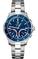 TAG Heuer Men's CAF7110.BA0803 Aquaracer Calibre S Regatta Chronograph Watch