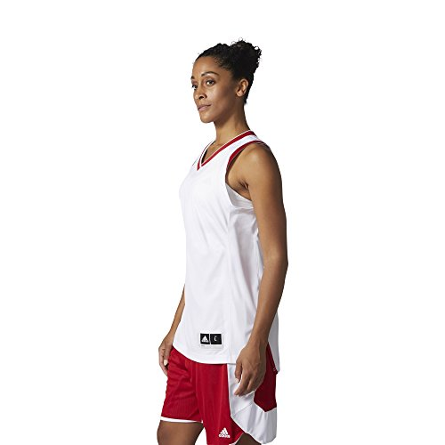 adidas W Crazy Expl Jr Camiseta Baloncesto, Mujer verde (verosc / blanco)