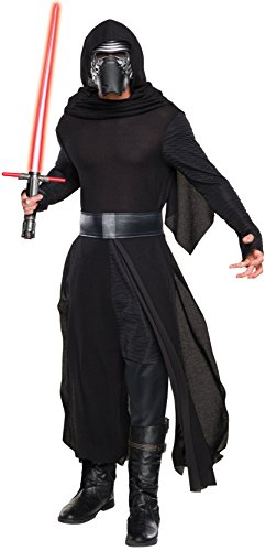Best Star Wars Costumes 2016 (Rubie's Men's Star Wars VII: Force Awakens- Deluxe Kylo Ren Costume Bundle, X-Large)