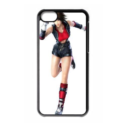 Asuka Kazama Tekken 333 coque iPhone 5C Housse téléphone Noir de couverture de cas coque EBDOBCKCO15029