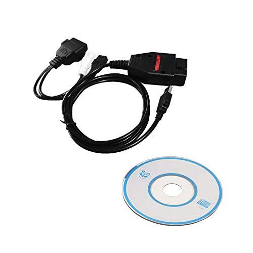 AIkong EOBD OBD2 Car 1260 ECU Tunning Diagnostic Cable Programmer Remap Flasher Black