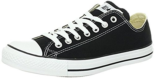 Converse Unisex Chuck Taylor All Star Low Top Canvas Sneakers Black XhDZaNc9
