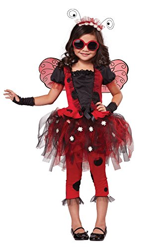 California Costumes Lovely Ladybug Costume, One Color, -