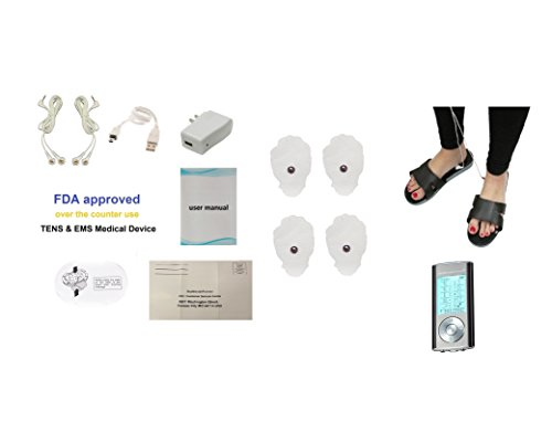Garantie à vie! HM10AB 10 Modes HealthmateForever Palm Massager + Massage Therapy Chaussures Équipement | massage des tissus profonds professionnels, Micro électronique Pulse Massager Impulse, Total Body Pain Relief massage Appareils Machine, tueur de dou
