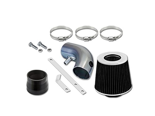 Short Intake Mini Ram - 01 02 03 Chrysler Voyager Lx Mini 3.3l V6 Short Ram Intake Sr-dg18 with Black Filter1