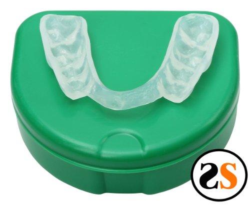 Custom Flexible Super Hard Dental Teeth Night Guard Back CUT by SportingSmiles