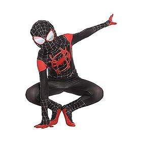 Kids Toddler Jumpsuit Bodysuit Black Spider Tights Zentai Costume