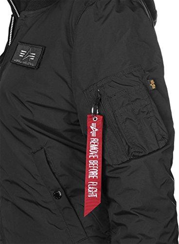 Alpha Ma D'hiver Industries tec D W Bn Veste Black 1 77R6vnA