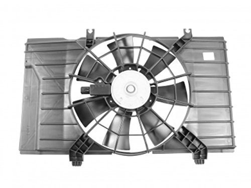 APDI 6017120 Dual Radiator and Condenser Fan Assembly